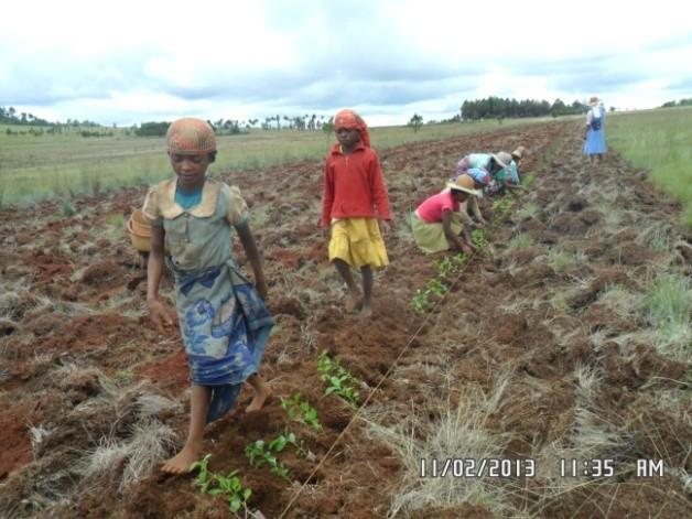 Un forage nécessaire pour les productions de la ferme