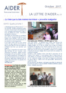 Lettre aider No 31 oct 2017 docx